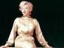 MILTON GREENE | The Gold Dress Sitting